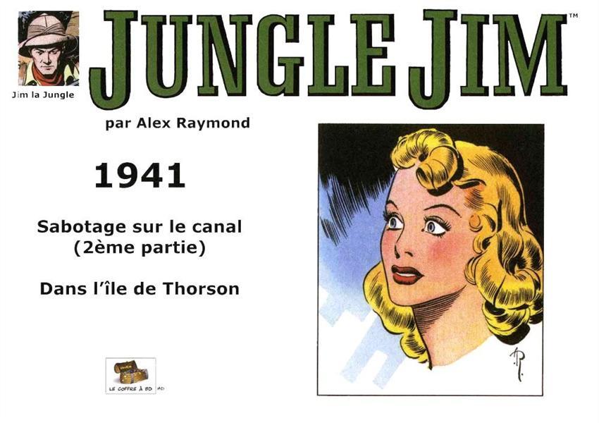 JUNGLE JIM 1941