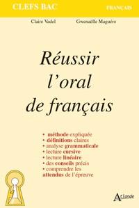 REUSSIR L'ORAL DE FRANCAIS
