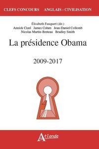 LA PRESIDENCE DE BARACK OBAMA (2009-2017)