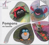 POMPONS EN FAMILLE - 40 MODELES