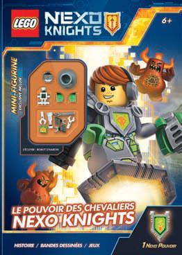 LEGO NEXO KNIGHTS 01 LE POUVOIR DES CHEVALIERS