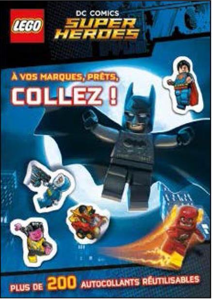 LEGO DC COMICS STICKERBOOK 01