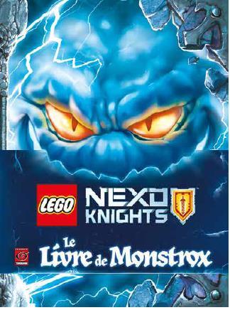 LEGO NEXO LE LIVRE DE MONSTROX