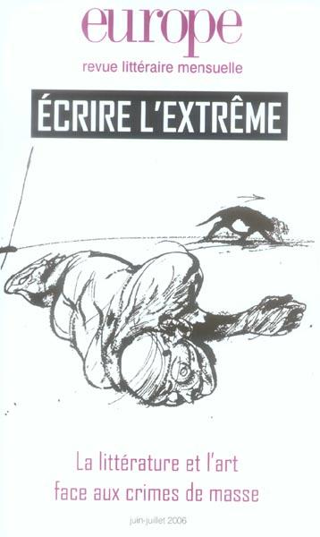EUROPE ECRIRE L EXTREME N926/927 JUIN JUILLET 2006