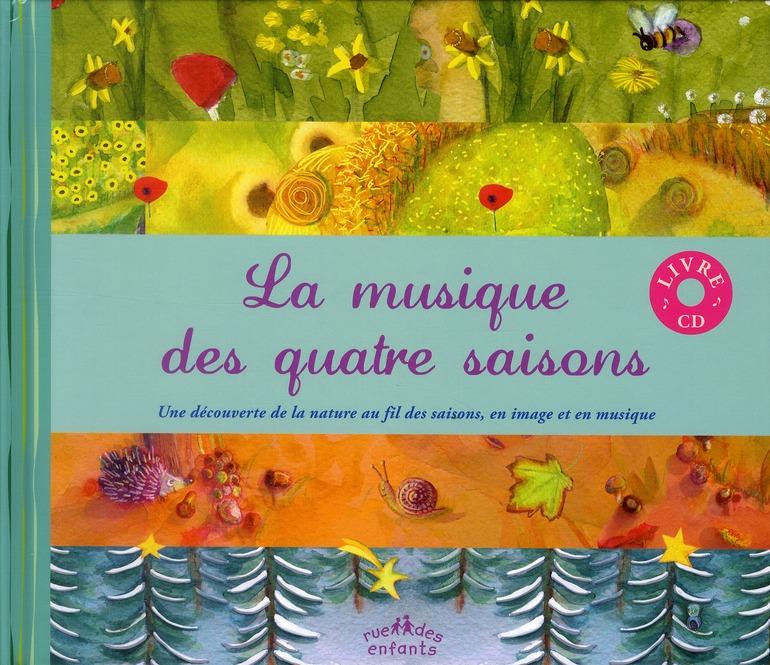 MUSIQUE DES QUATRE SAISONS (LA) AVEC CD AUDIO