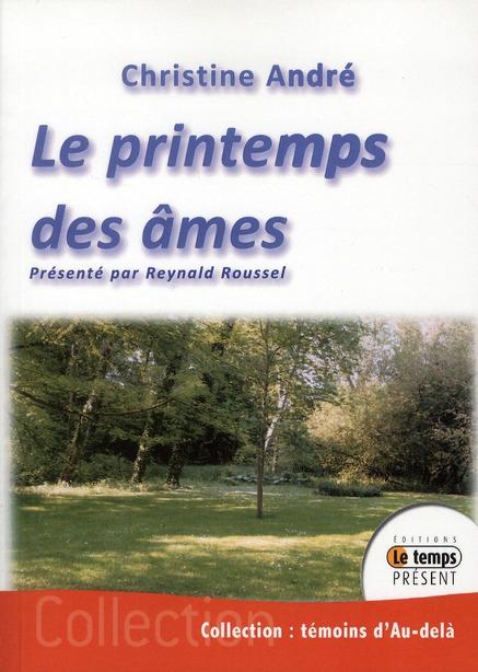 LE PRINTEMPS DES AMES
