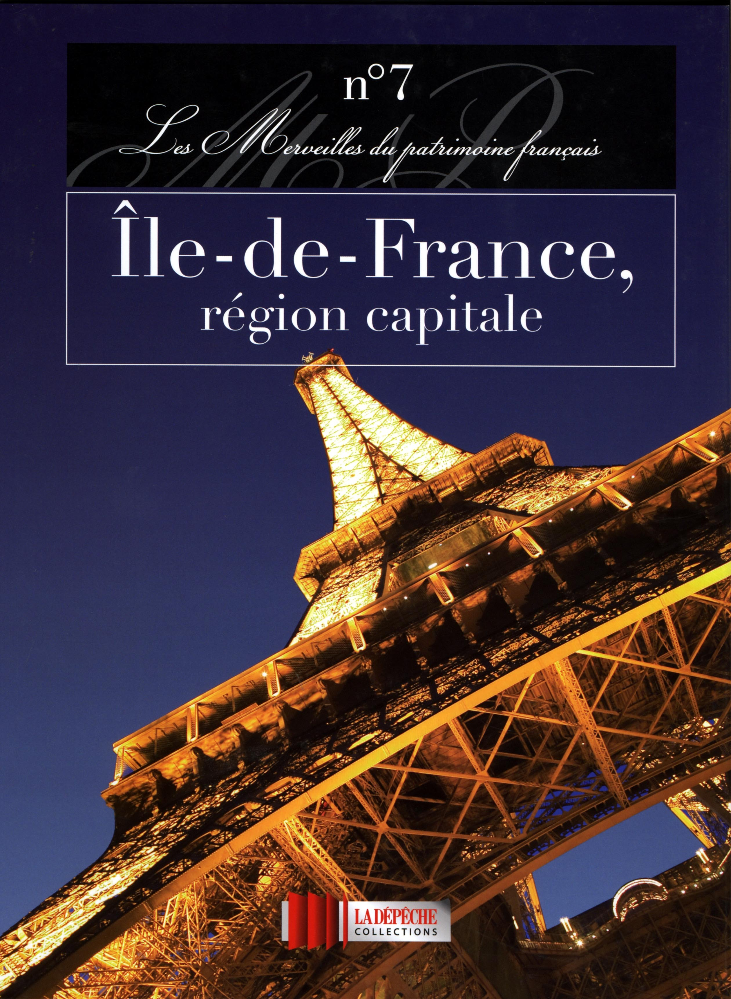 ILE DE FRANCE - LIVRE  REGION CAPITALE