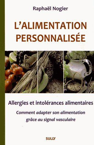 L'ALIMENTATION PERSONNALISEE