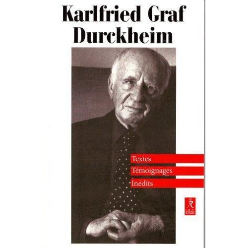 KARLFRIED GARF DURCKHEIM