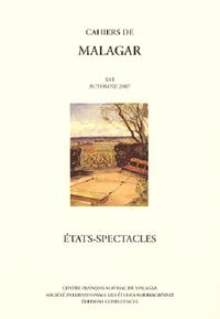 CAHIERS DE MALAGAR N XVI