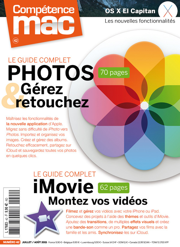 COMPETENCE MAC, LE GUIDE COMPLET PHOTOS