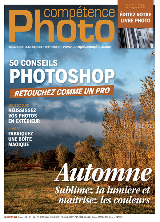 COMPETENCE PHOTO N  48 - 50 CONSEILS PHOTOSHOP