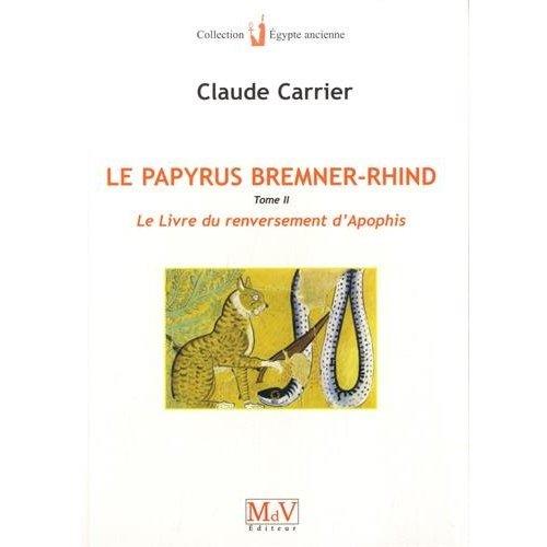 LE PAPYRUS DE BREMNER-RHIND (TOME 2)
