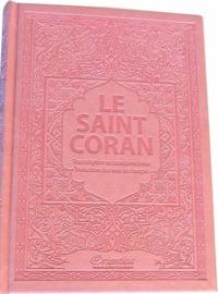 SAINT CORAN - AR/FR/PHONETIQUE - EDITION DE LUXE (COUVERTURE CUIR ROSE CLAIR)