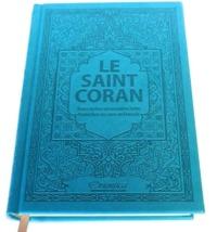SAINT CORAN - AR/FR/PHONETIQUE - EDITION DE LUXE (COUVERTURE CUIR BLEU TURQUOISE)