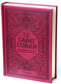 SAINT CORAN - AR/FR/PHONETIQUE - EDITION DE LUXE (COUVERTURE CUIR BORDEAUX)