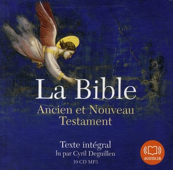 LA BIBLE - LIVRE AUDIO 10 CD MP3 - LIVRET 32 PAGES