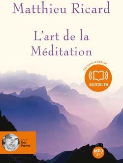 L'ART DE LA MEDITATION - LIVRE AUDIO 1CD MP3