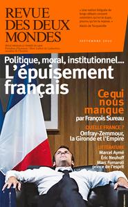 RDDM  SEPTEMBRE 2020 - POURQUOI LA FRANCE EST-ELLE SI NULLE?