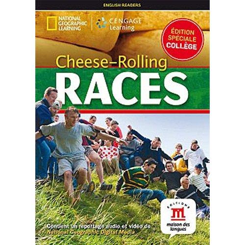 CHEESE ROLLING RACES - LIVRE + DVD - NIVEAU A1-A2