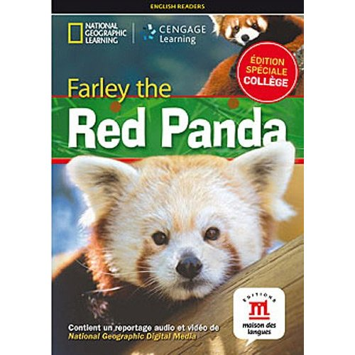 FARLEY THE RED PANDA - LIVRE + DVD - NIVEAU A1-A2