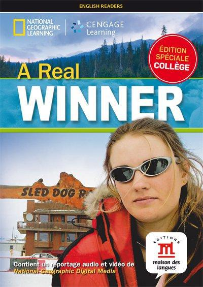 REAL WINNER (A) - LIVRE + DVD - NIVEAU A2-B1 - COLLECTION NG