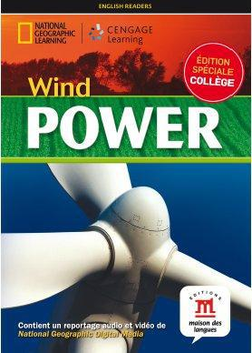 WIND POWER - LIVRE + DVD - NIVEAU A2-B1 - COLLECTION NG