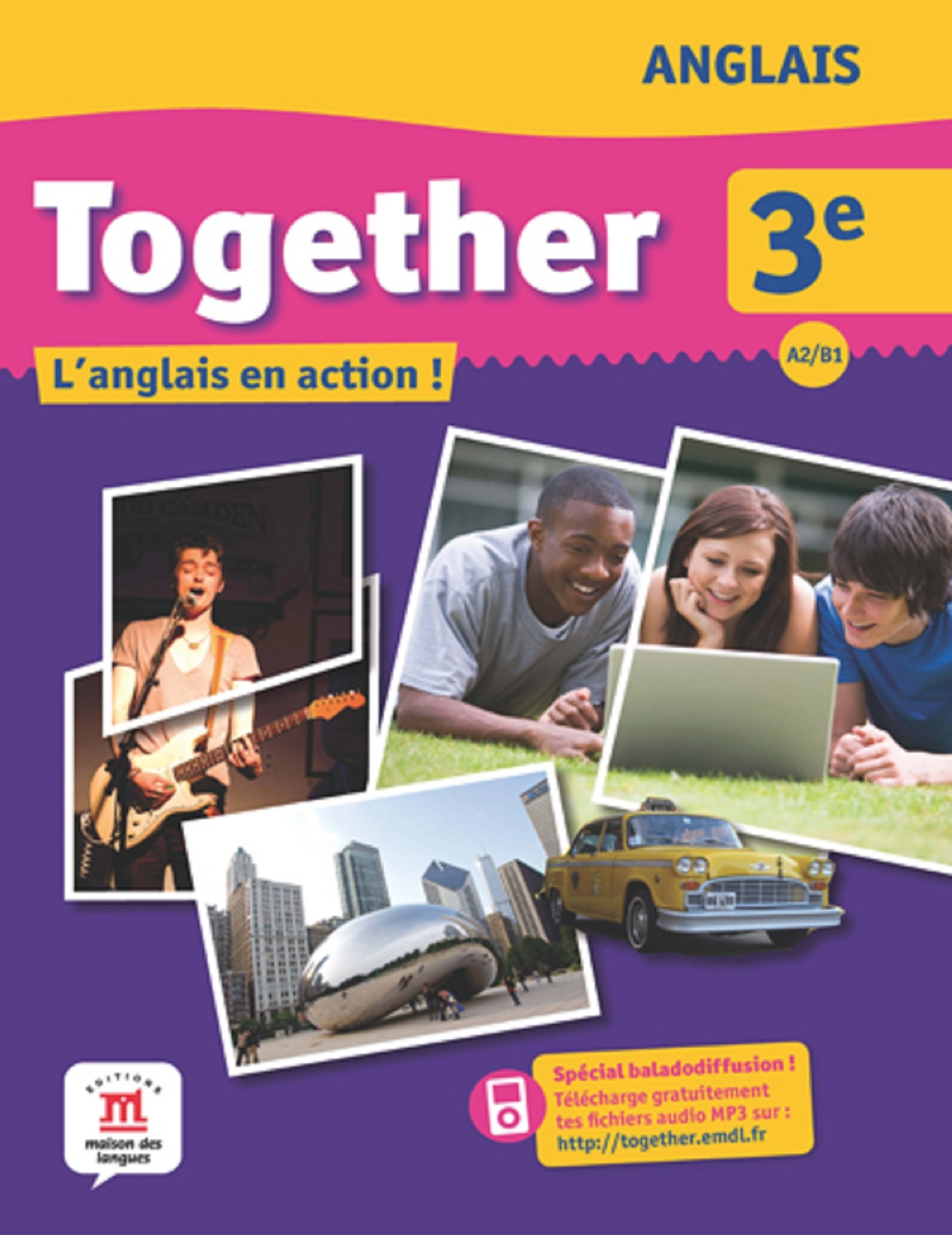 TOGETHER 3E - LIVRE DE L'ELEVE