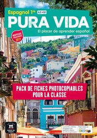 PURA VIDA 1RE - PACK DE FICHES