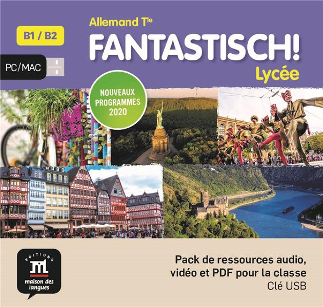 Fantastisch terminale - cle usb (audio + video)