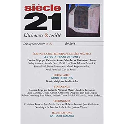 REVUE SIECLE 21 N32