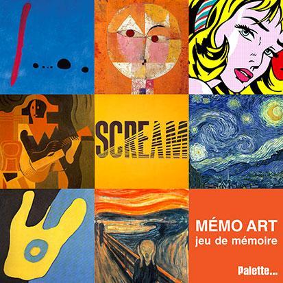 MEMO ART - BOITE DE JEU.