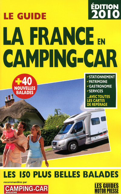 2010 GUIDE FRANCE CAMPING CAR