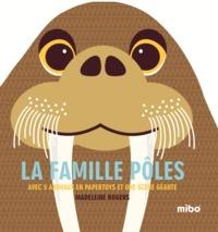 LA FAMILLE POLES (COLL. MIBO) - AVEC 5 ANIMAUX EN PAPERTOYS ET UNE SCENE GEANTE