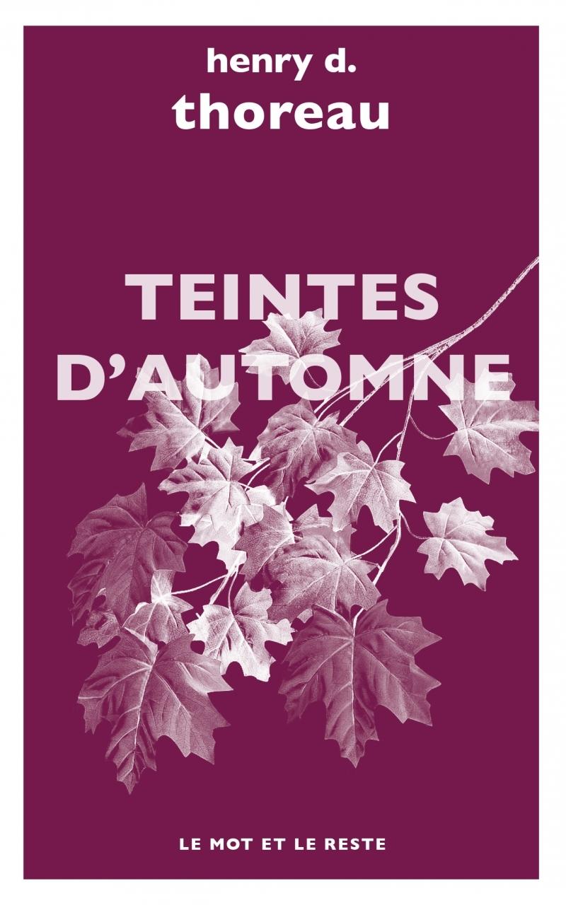TEINTES D'AUTOMNE