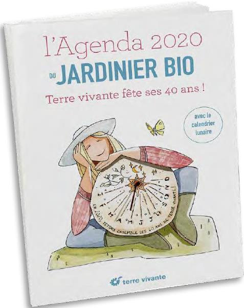 L'AGENDA 2020 DU JARDINIER BIO