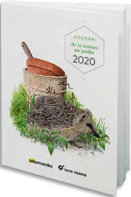 AGENDA DE LA NATURE AU JARDIN 2020