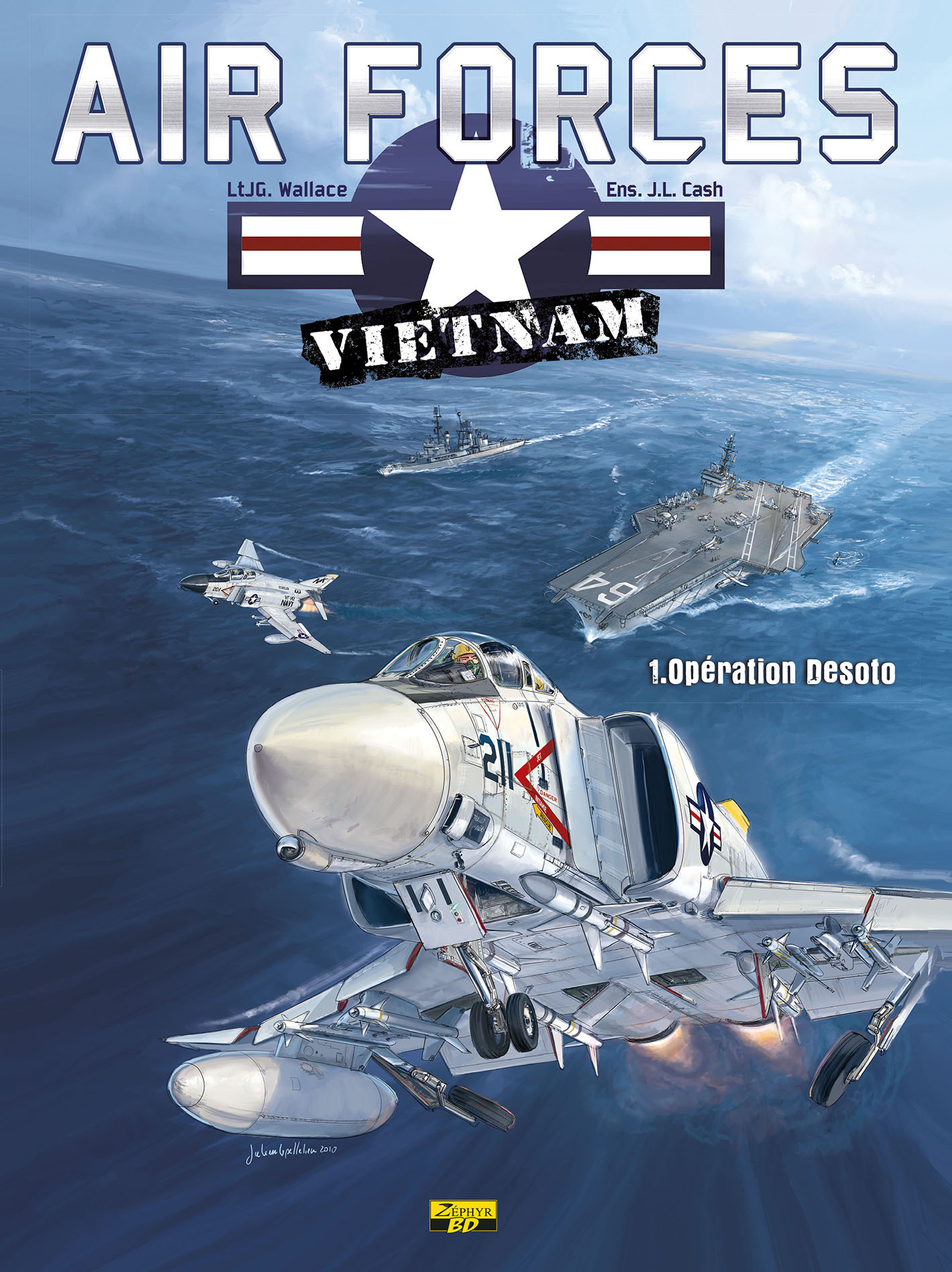 AIR FORCE VIETNAM T01 - OPERATION DESOTO (EDITION STANDARD)
