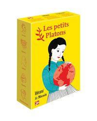 COFFRET JAUNE CINQ PETITS PLATONS - SOCRATE EST AMOUREUX, EPICTETE...