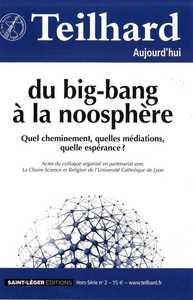 N 49 - TEILHARD AUJOURD'HUI HORS-SERIE 2 - MARS 2014 - DU BIG-BANG A LA NOOSPHERE