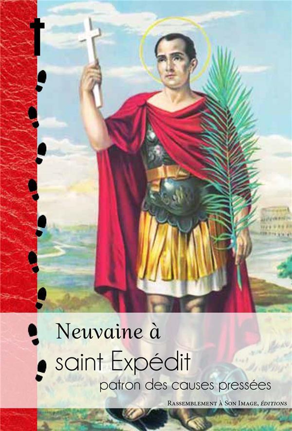 NEUVAINE A SAINT EXPEDIT, PATRON DES CAUSES PRESSEES - L394