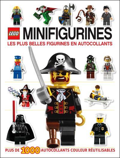 LEGO MINIFIGURINE : L'ALBUM DES AUTOCOLLANTS : LES PLUS BELLES FIGURINES