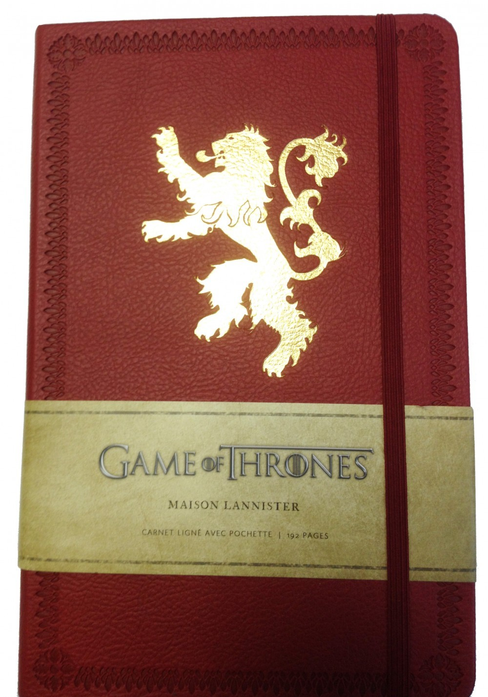 GAME OF THRONES : CARNET MAISON LANNISTER