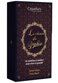 LE CHEMIN DE SOPHIA (COFFRET CONTENANT UN LIVRET ET UN JEU DE 45 CARTES)