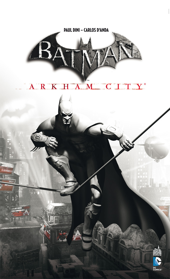 BATMAN ARKHAM CITY  + JEU VIDEO