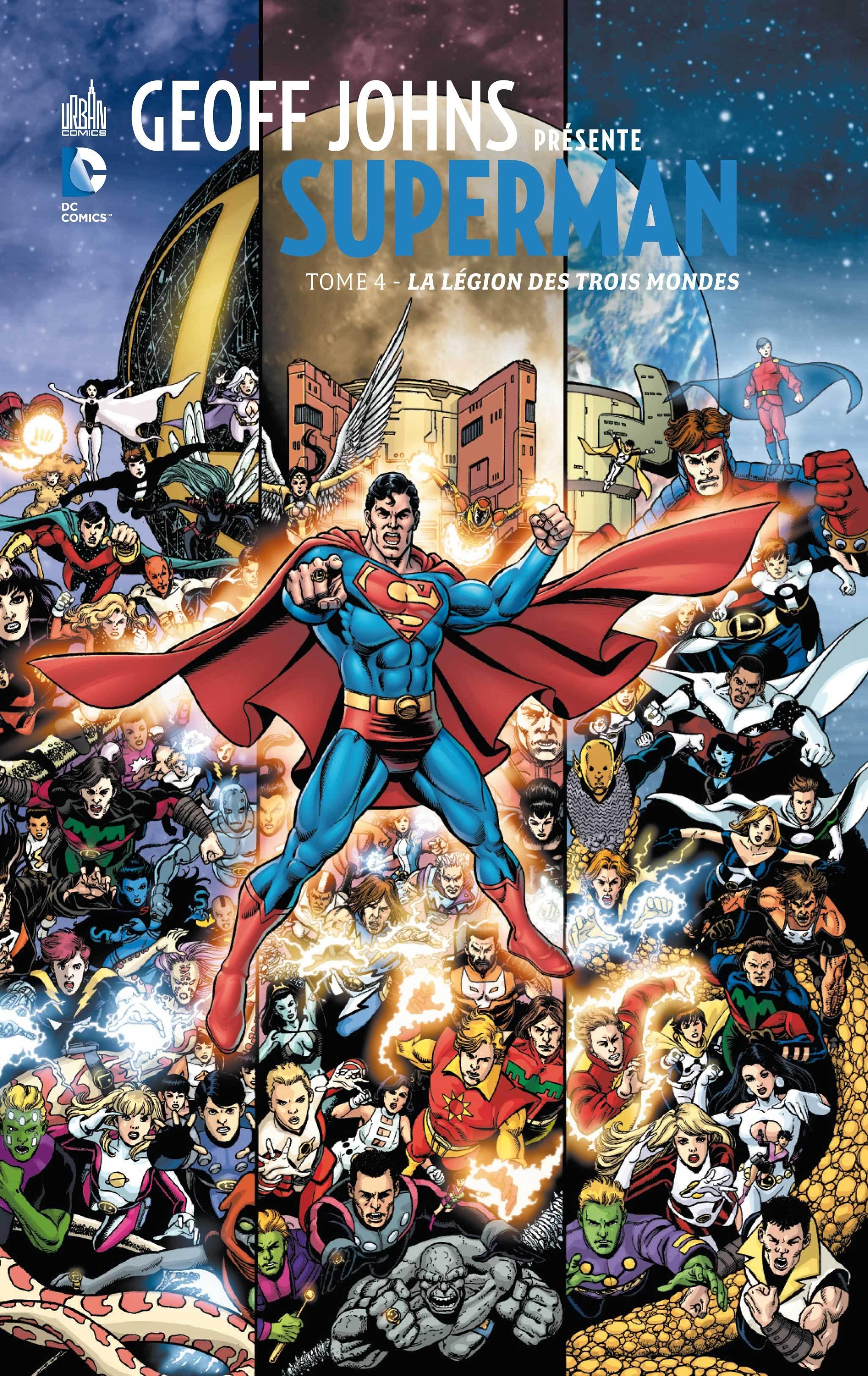 DC SIGNATURES - GEOFF JOHNS PRESENTE SUPERMAN TOME 4