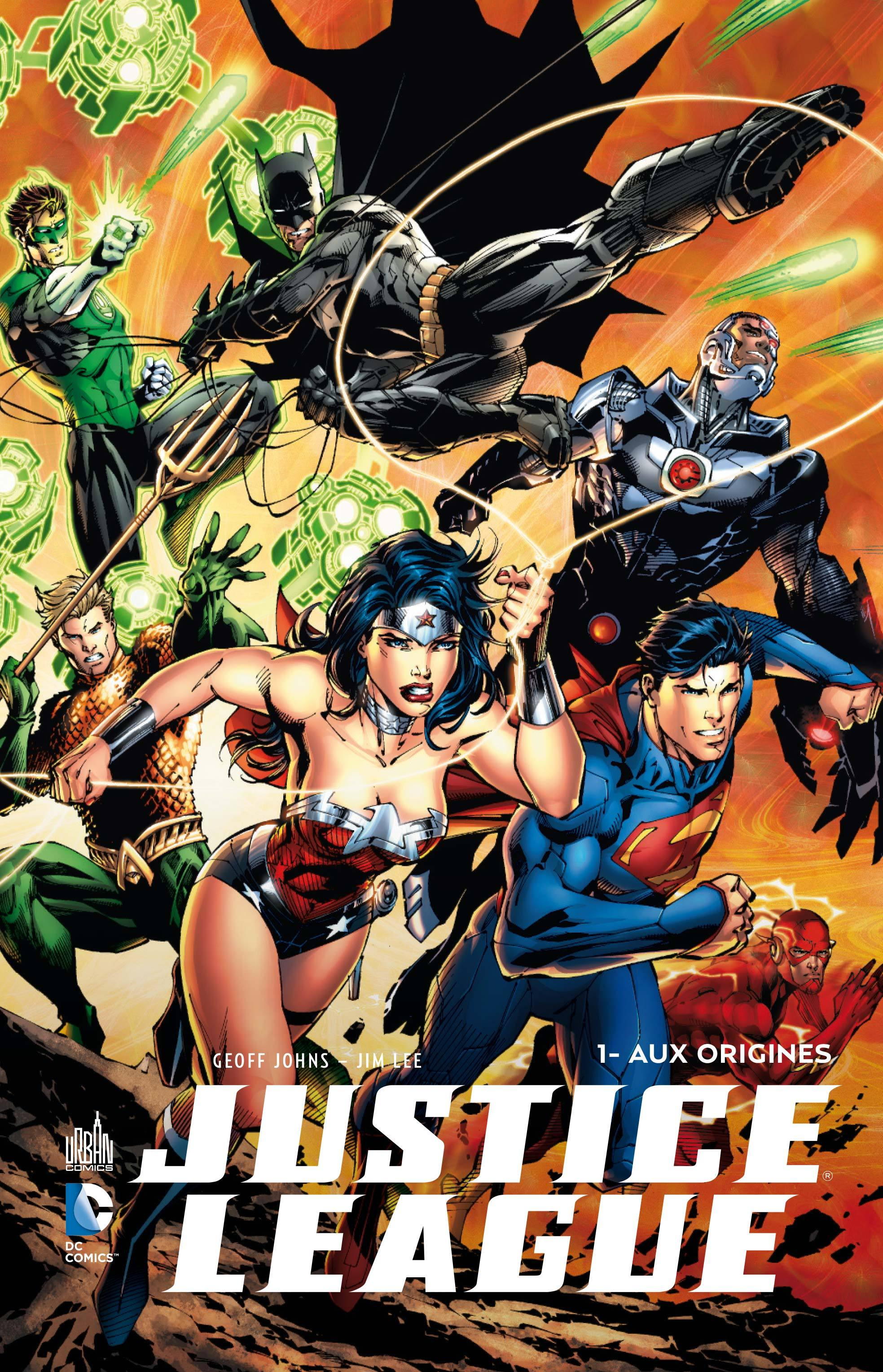 JUSTICE LEAGUE TOME 1 + BRD