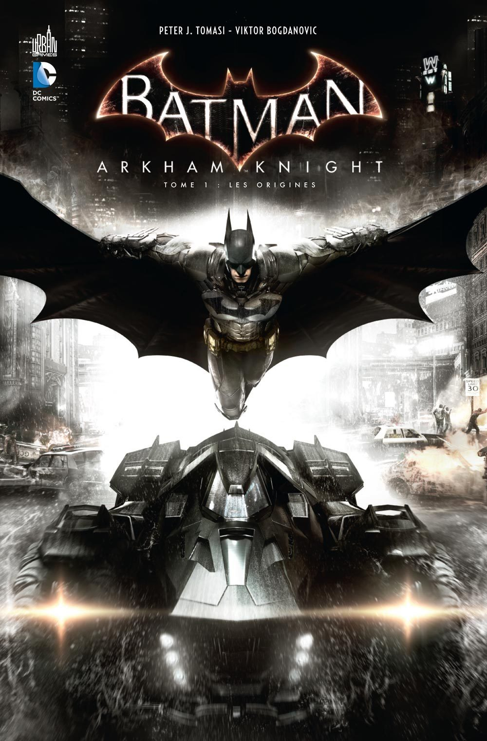 URBAN GAMES - BATMAN ARKHAM KNIGHT TOME 1 + SKIN BATMAN EXCLUSIF