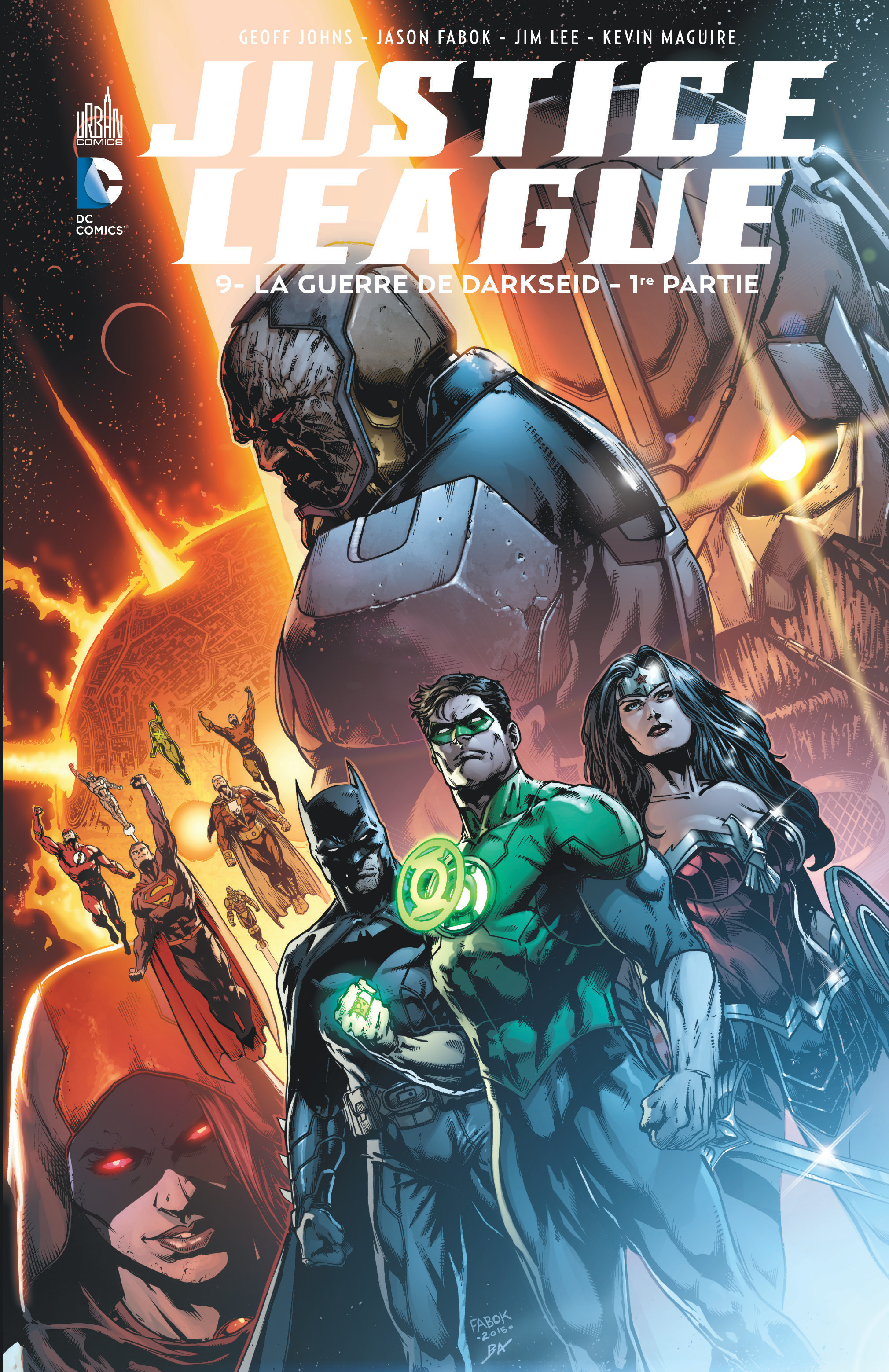 JUSTICE LEAGUE TOME 9