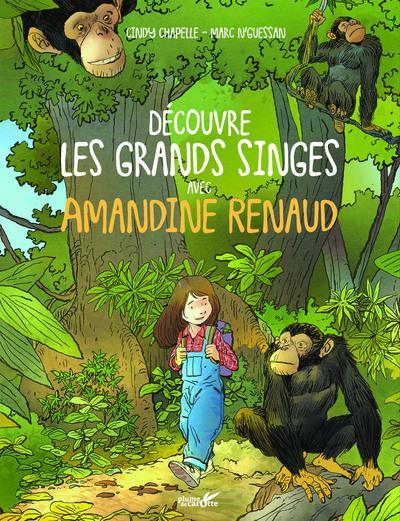 DECOUVRE LES GRANDS SINGES AVEC AMANDINE RENAUD